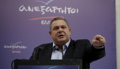 Καμμένος για Κουίκ-Κουντουρά: Τους διορίσαμε μέχρι και σε υπουργικούς θώκους και μας κάνουν κριτική | Pagenews.gr