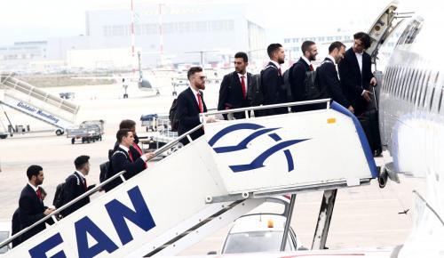 EUROPA LEAGUE: Αναχώρησε για Μιλάνο ο Ολυμπιακός | Pagenews.gr