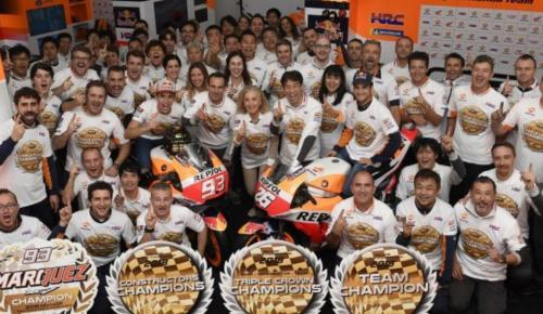 Honda: Κατακτά τον 2ο διαδοχικό τίτλο MotoGP Triple Crown | Pagenews.gr