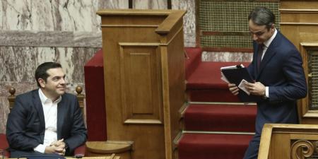 Συνταγματική αναθεώρηση: Σύγκρουση Τσίπρα – Μητσοτάκη στη Βουλή | Pagenews.gr