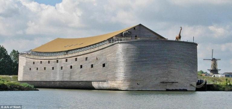 Ξυλουργός στην Ολλανδία έφτιαξε αντίγραφο της Κιβωτού του Νώε – Που θέλει να ταξιδέψει (pics&vid) | Pagenews.gr