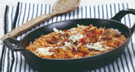 Η συνταγή της ημέρας: Κοκκινιστό με κριθαράκι | Pagenews.gr