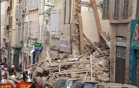 Κατάρρευση κτιρίων στη Μασσαλία: Στους έξι οι νεκροί | Pagenews.gr