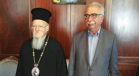 Συνάντηση Γαβρόγλου – Πατριάρχη: Τι λέει ο εκπρόσωπος Τύπου του Οικουμενικού Πατριαρχείου | Pagenews.gr