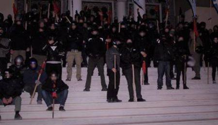 Μέλη Ρουβίκωνα αστυνομία: Η αναρχική συλλογικότητα έκανε έλεγχο σε αστυνομικούς (vid) | Pagenews.gr
