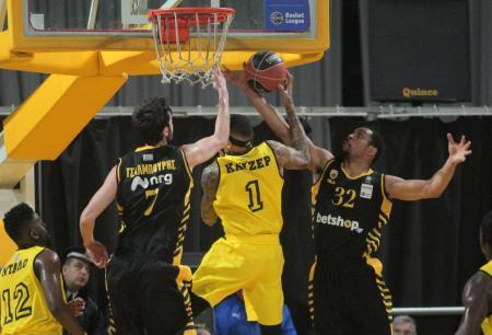 Basket League: Νίκες για ΑΕΚ και Πανιώνιο | Pagenews.gr