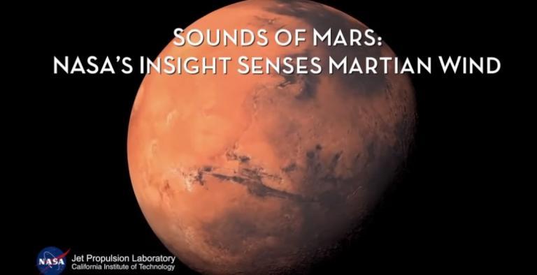 NASA – InSight: Άκουσε και κατέγραψε τον άνεμο στον Άρη (vid) | Pagenews.gr