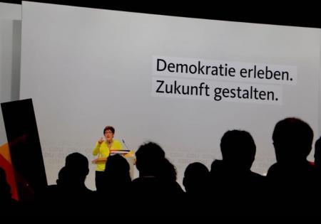 Συνέδριο CDU: Η Άνεγκρετ Κραμπ-Καρενμπάουερ εξελέγη νέα πρόεδρος | Pagenews.gr
