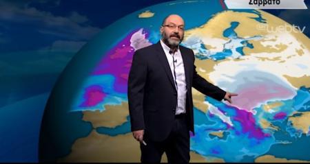 Πρόγνωση καιρού: Έρχονται πιο πολλά χιόνια την Πρωτοχρονιά ! – Τι προβλέπει ο Σάκης Αρναούτογλου (vid) | Pagenews.gr