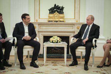 Τσίπρας – Πούτιν συνάντηση:Δείτε τις κοινές δηλώσεις τους (vid) | Pagenews.gr