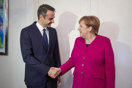 Μητσοτάκης: Εξήγησα στην Μέρκελ γιατί θα καταψηφίσω τις Πρέσπες (pics&vid) | Pagenews.gr