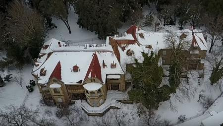 Χιόνια στην Αθήνα: Το Τατόι στα… λευκά (vid) | Pagenews.gr