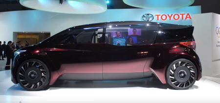 Toyota Fine – Comfort Ride: Αξιοποιεί τις δυνατότητες των κυψελών καυσίμου | Pagenews.gr