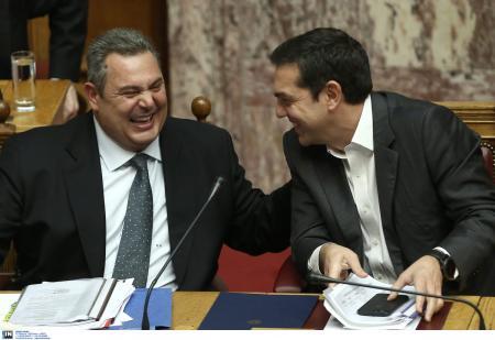 Τσίπρας – Καμμένος: Τα λένε αύριο στις 10:30 το πρωί | Pagenews.gr