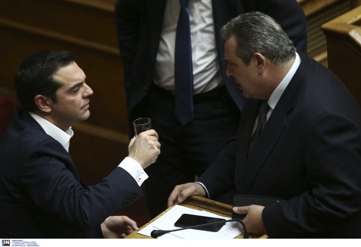 Αναβάλλεται η συνάντηση Τσίπρα-Καμμένου -Υπάρχει εμπλοκή στα Σκόπια