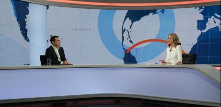 Συνέντευξη Τσίπρα στο OPEN: Ο διάλογος off camera του πρωθυπουργού με την Στάη (vid) | Pagenews.gr