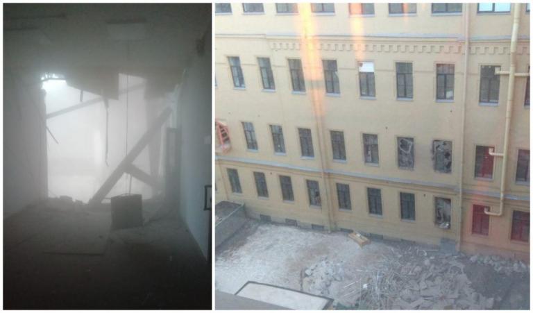 Πανεπιστήμιο Αγίας Πετρούπολης: Κατέρρευσε τμήμα του κτιρίου | Pagenews.gr