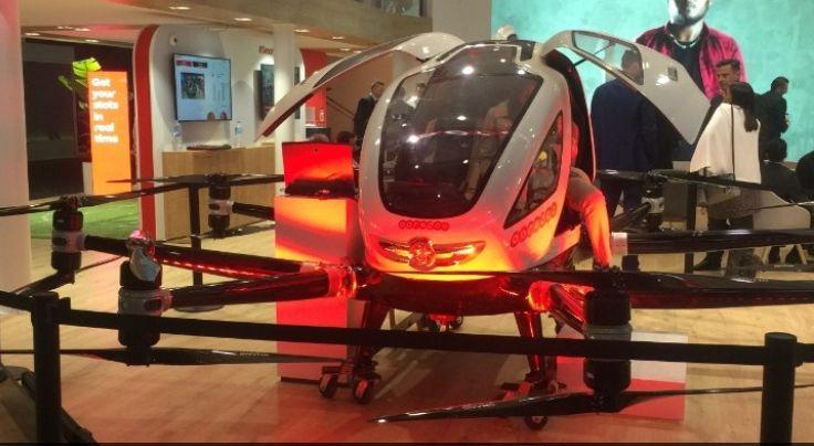 Έρχονται αεροταξί… drones που θα μεταφέρουν επιβάτες χωρίς οδηγό | Pagenews.gr