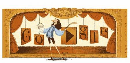 Μολιέρος: H Google τιμά με doodle το σπουδαίο Γάλλο συγγραφέα   Pagenews.gr