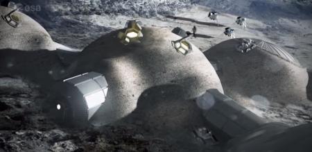 «Σεληνιακό Χωριό»: Έλληνας φοιτητής σχεδιάζει κατοικίες στη Σελήνη | Pagenews.gr
