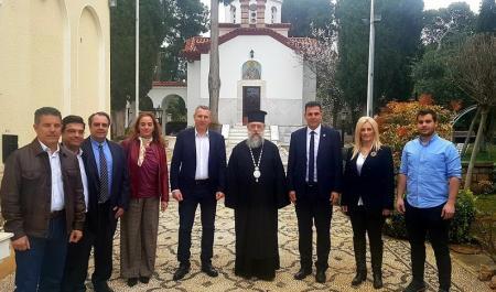 Καραμέρος: Επίσκεψη στον Σεβασμιώτατο Μητροπολίτη κ. Κύριλλο | Pagenews.gr