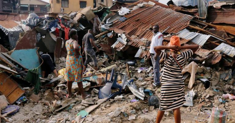 Νιγηρία: Ο απολογισμός από την κατάρρευση κτιρίου στο Λάγος έχει φτάσει τους 20 νεκρούς | Pagenews.gr