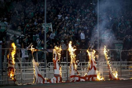 Παναθηναϊκός – Ολυμπιακός: Σε εμπόλεμη ζώνη μετατράπηκε το ΟΑΚΑ (pics) | Pagenews.gr