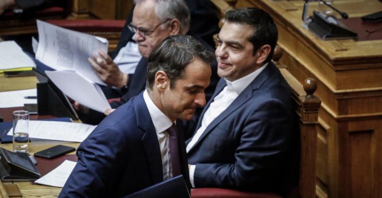 Δημοσκόπηση 2019: Προβάδισμα 6,5% η Νέα Δημοκρατία – Αρνητική άποψη του κόσμου για τις παροχές | Pagenews.gr