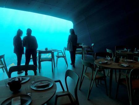 Under: Το πρώτο υποθαλάσσιο εστιατόριο της Ευρώπης   Pagenews.gr
