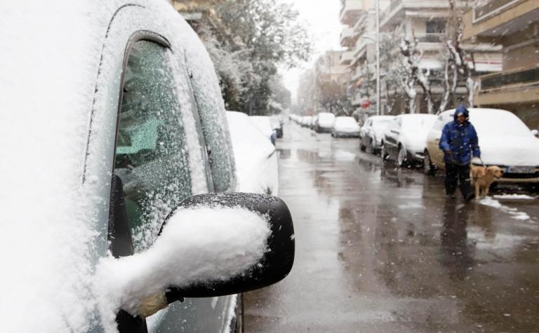 Φθιώτιδα κακοκαιρία: «Δίπλωσε» φορτηγό από τη χιονόπτωση | Pagenews.gr