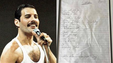Freddie Mercury: Πωλούνται σε δημοπρασία σπάνια χειρόγραφα του θρύλου των Queen | Pagenews.gr