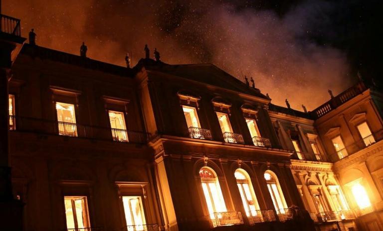 Tο Εθνικό Μουσείο του Ρίο δεν είναι Παναγία των Παρισίων | Pagenews.gr