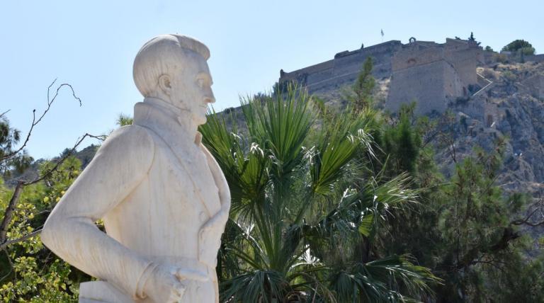 Ναύπλιο: Βανδαλισμοί στο άγαλμα του Καποδίστρια – Έκλεψαν τα δάκτυλά του (pics) | Pagenews.gr