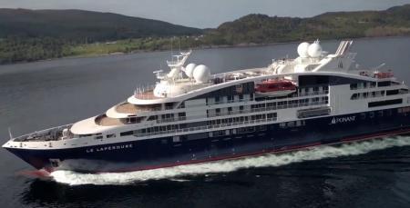 Διακοπές στον Βόλο: Κατέπλευσε το εντυπωσιακό κρουαζιερόπλοιο «Le Bougainville» (vid) | Pagenews.gr