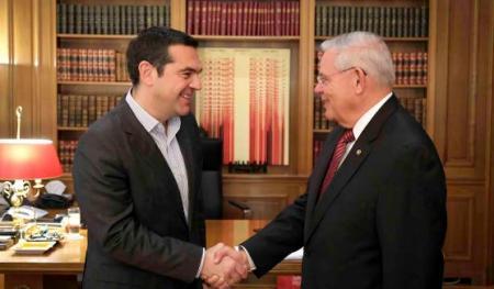 Αλέξης Τσίπρας: Συνάντηση με τον Αμερικανό γερουσιαστή Μπόμπ Μενέντεζ   Pagenews.gr