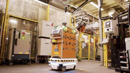 Ford: Ένα αυτόνομο ρομπότ κάνει πιο εύκολη τη ζωή των εργαζομένων της | Pagenews.gr