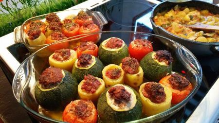 Κολοκυθάκια γεμιστά με αυγολέμονο: Ελαφριά γεύση και έντονη απόλαυση   Pagenews.gr