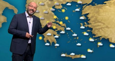 Αρναούτογλου καιρός: Καύσωνας με μπόρες το τριήμερο   Pagenews.gr