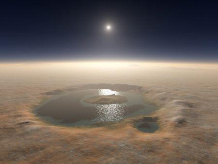 Βάσιμες ενδείξεις για νερό στον βόρειο πόλο του Άρη   Pagenews.gr