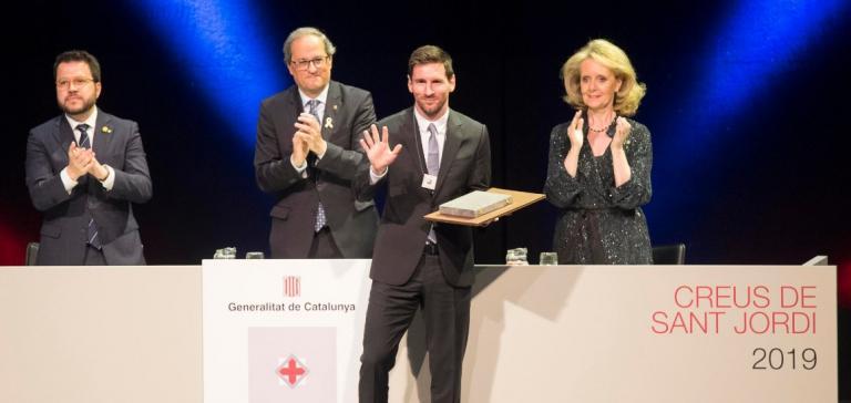 Λιονέλ Μέσι: Τιμήθηκε με τον «Σταυρό του Αγίου Γεωργίου» | Pagenews.gr