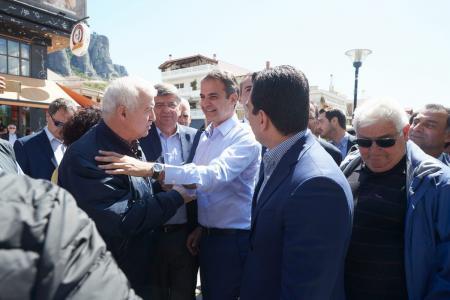Μητσοτάκης: «Μόνο εμείς μπορούμε να δώσουμε λύση στα προβλήματα της Ελλάδας»   Pagenews.gr