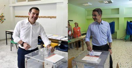 Δημοσκόπηση για εκλογές 2019: Στις 8,5 μονάδες η διαφορά Νέας Δημοκρατίας και ΣΥΡΙΖΑ   Pagenews.gr