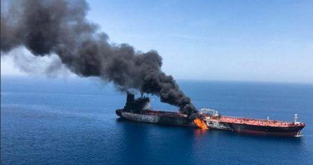 Εκρήξεις στον Κόλπο του Ομάν: Από τορπίλες και μαγνητικές νάρκες χτυπήθηκαν τα πλοία | Pagenews.gr