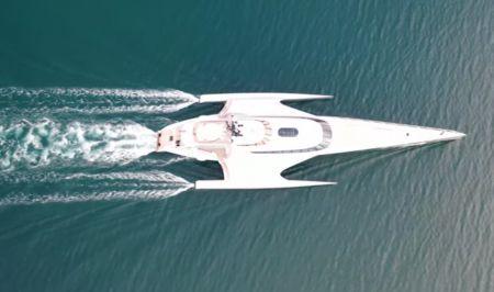 Star Trek: Το φουτουριστικό yacht του Μάρντεν στον Θεολόγο (vid) | Pagenews.gr
