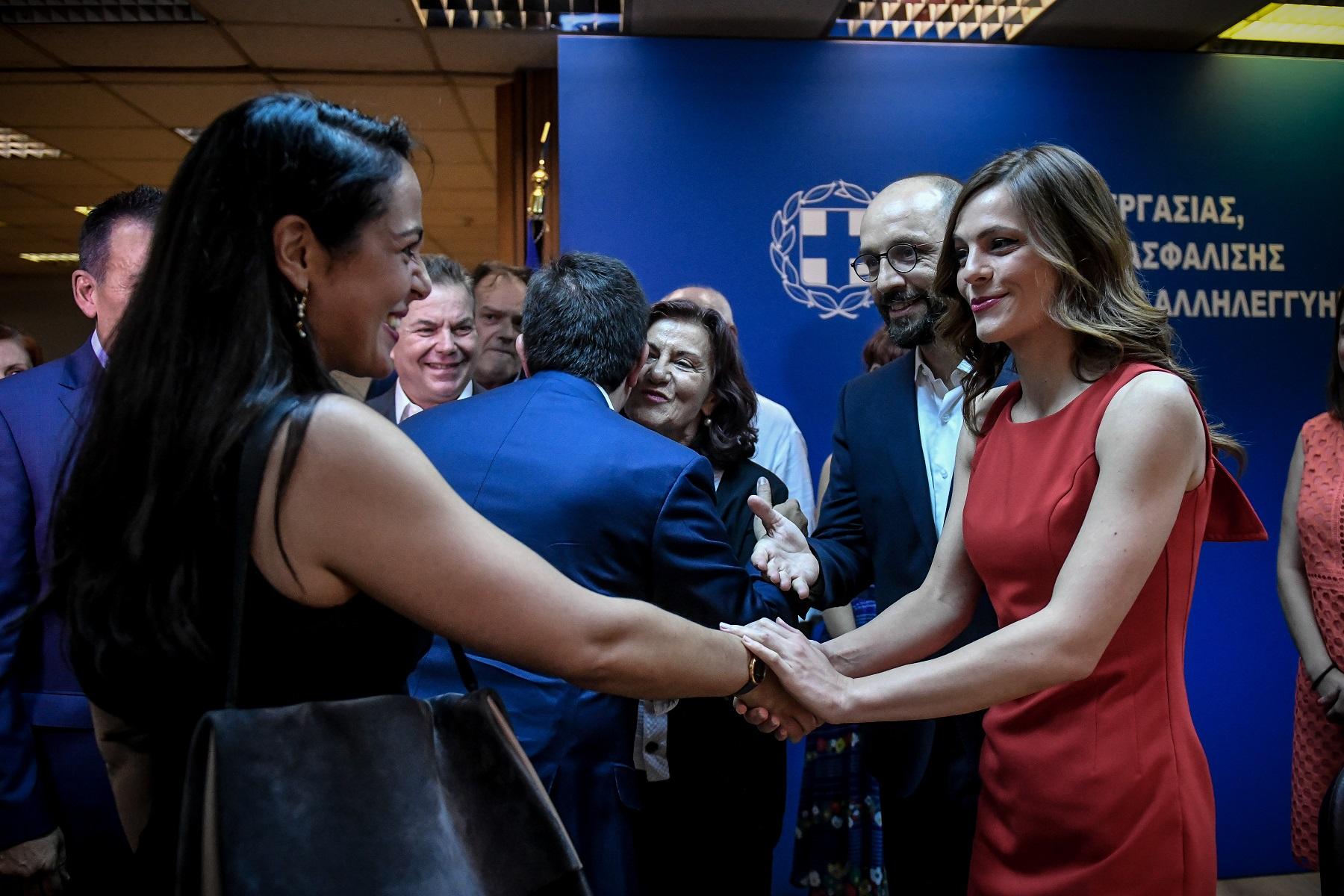 Γιάννης Κεφαλογιάννης – Δόµνα Μιχαηλίδου: Το νέο ζευγάρι της πολιτικής σκηνής