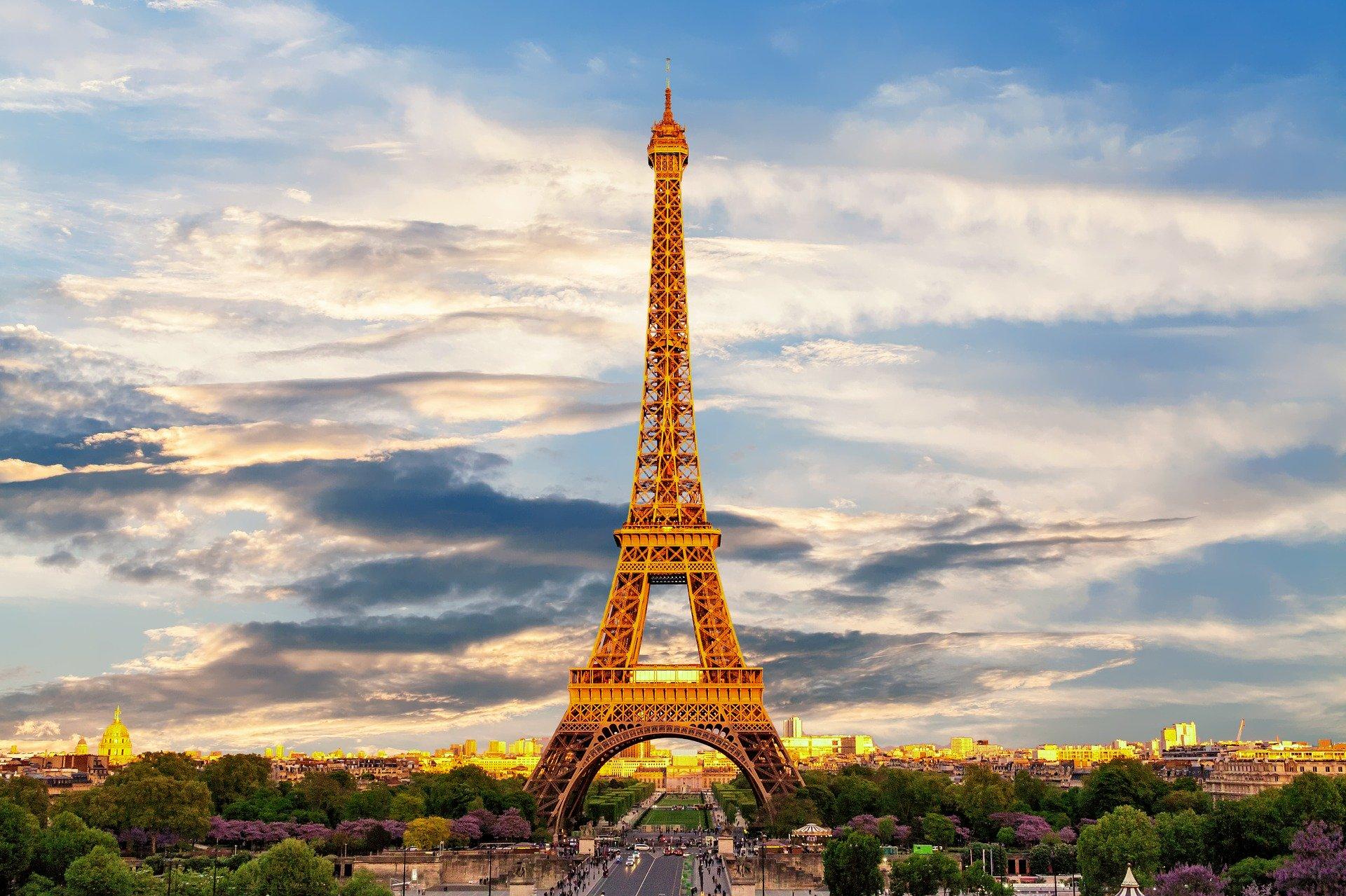 Πύργος του Άιφελ: Πανέμορφη εικόνα
