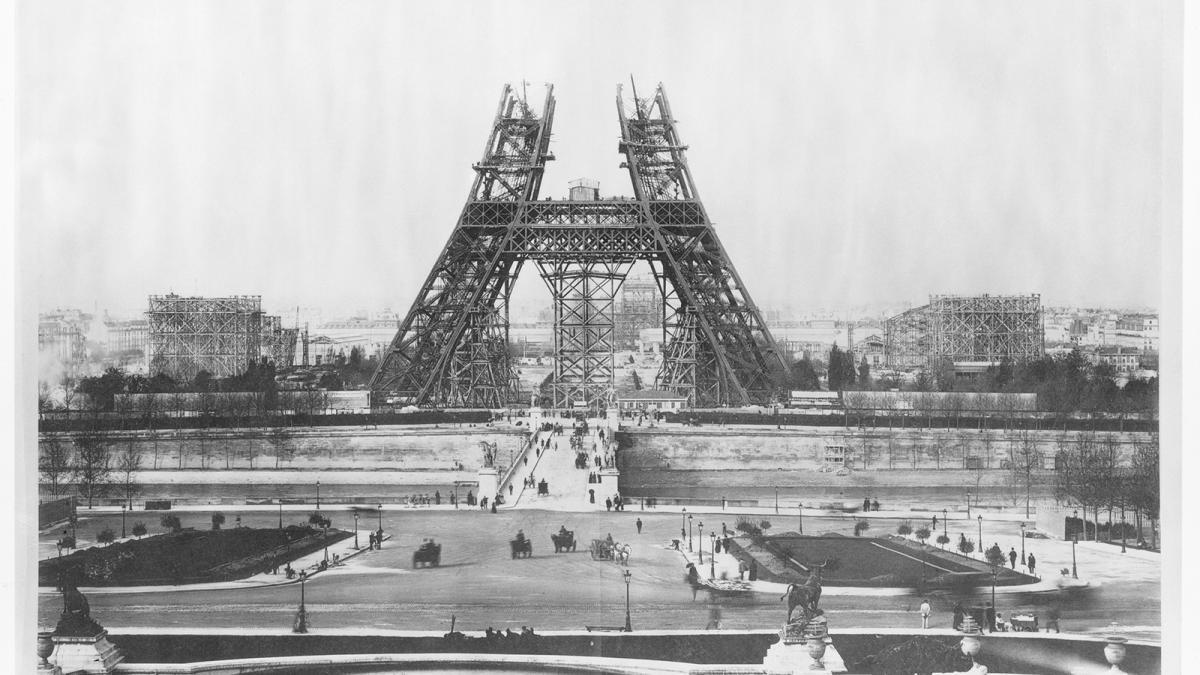 Πύργος του Άιφελ: Παλιότερη φωτογραφία