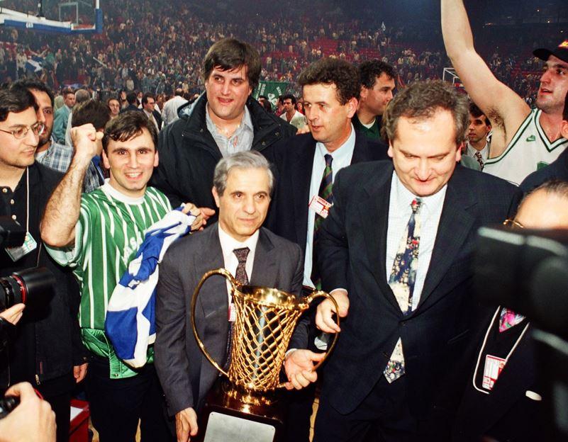 Παναθηναϊκός Μπαρτσελόνα 1996: Ο πρώτος τίτλος του Εξάστερου