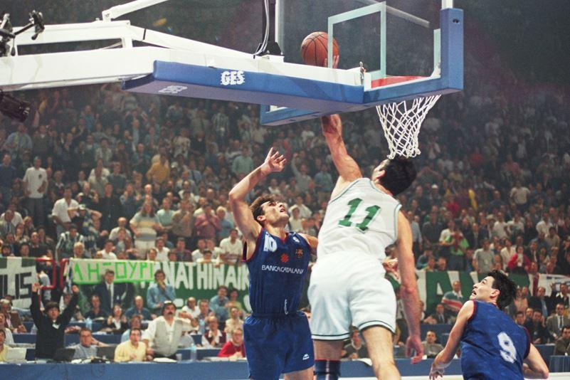 Παναθηναϊκός Μπαρτσελόνα 1996: Ο γίγαντας Στόγιαν Βράνκοβιτς ήταν εκεί που έπρεπε