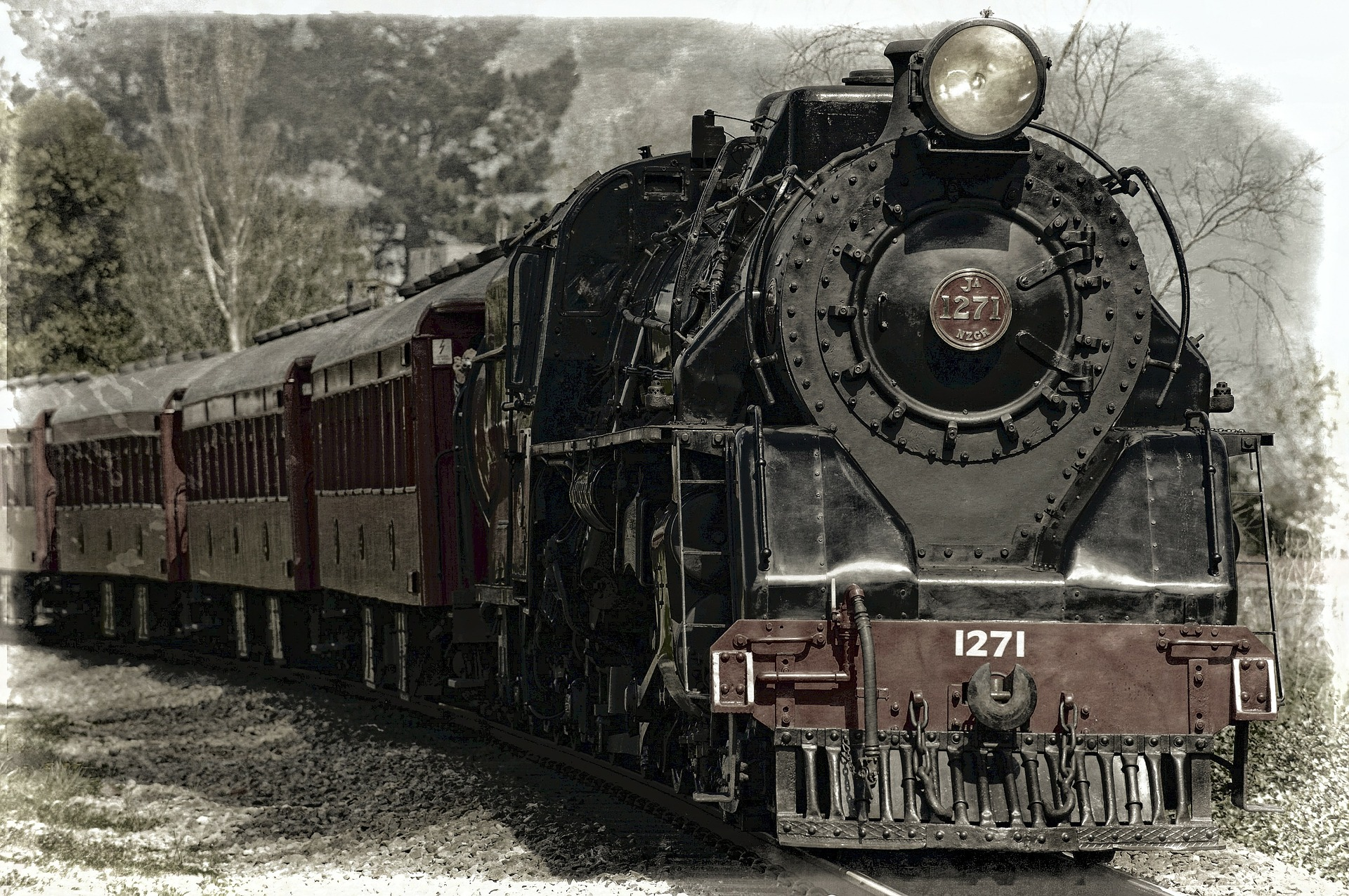 Ληστεία τρένου